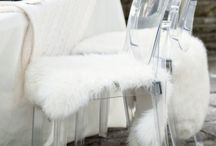 Winter Wedding Decor / White.  Our Gallery is a white canvas. Perfect for any winter wedding.