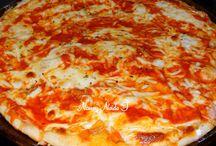 Pizzas e massas