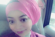 Hijab n NiekOcta / See me @ d mirror Create my hijab for my style day by day