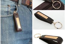 Personalized Keychains - Custom Engraved Leather Key Chain / www.All-for-men.com  is where to find the best fashion and trendy accessories for men - Customized key chains for him