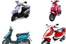Compare between TVS Scooty