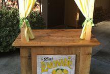 stand limonada Maria