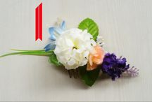 TrendOTD / The Trendiest Bridal Flower Combs