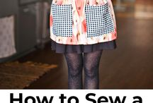 Sewing aprons