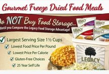 Legacy food storage products