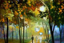 Leonid Afremov / love his art works