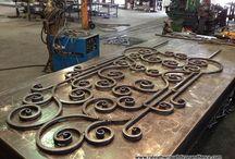 metalowe bramy