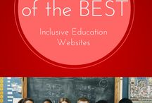 Inclusion / Educational inclusion resources / by Allie McCann