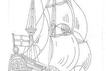 Kalyon, Gemi - Galleon, Ship