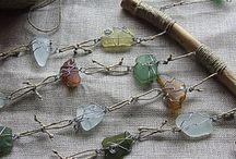 Gioielli e creazioni handmade con Seaglass / La forma dell'acqua