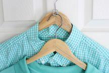 organização de guarda roupas