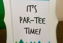 Hanli golf party