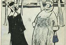 Сойфертис. Карикатура / работы советского карикатуриста Л.В. Сойфертиса