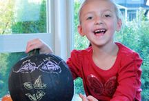 Pumpkin Carving/Decorating Ideas / Cute ideas for Halloween/pumpkin carving and decorations.