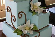 Cukrászkodás-esküvői torta