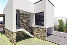 Proyecto de terminación de vivienda.                                           Un diseño de DiDá (+34 665 086 265) para Nicolás Escalona Construcciones / Construir vivienda, diseño de vivienda, arquitectura, proyecto arquitecto, minimalista