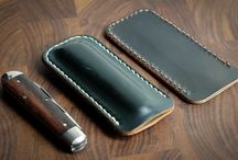 Knives and Cases / Knives and cases. Every Day Carry. Folding knives. Great Eastern Cutlery. Knife case.