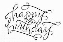 Compleanno / Idee biglietti di compleanno