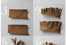 Arty Paper Flowers