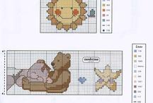 Cross stitch - Baby / by Dalila Silva