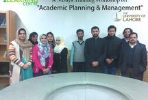 """Training on """"Academic Planning & Management"""" / Learning Centre /QEC at University of Lahore organized three days training on """"Academic Planning & Management"""" held on 4th, 6th & 7th  February, 2014. This training was delivered by  •Engr. Muhammad Usman, Lecturer & Certified HEC Master Trainer (21stBatch) •Engr. Rehan Masood, Assistant Professor & Certified HEC Master Trainer (20th Batch)"""