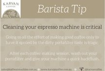 Barista Tips from Karvan Coffee