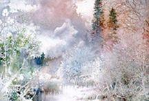 ART: Nita Engle, watercolors