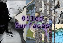 Oiled Surfaces Trend / A collection of designs and images to support the new oiled surfaces trend
