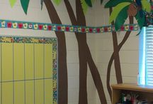 Beach-themed classroom
