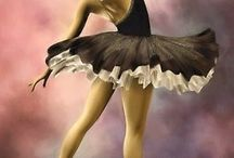 """The Magic of Ballet / """"Dancing is like dreaming with your feet!""""  Constanze"""