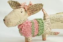 Artsy not just Crafty Stuff / by Pink Kitchen Studio