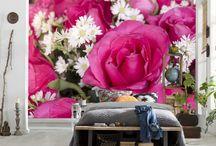 Çiçek Duvar Kağıtları / İstediğiniz görseli size özel ölçülerle duvar kağıdı olarak üretiyoruz.