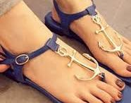 Nautically Inspired Footwear