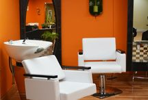 Easy Ideas Beauty Salon decorating / We carry an extensive line of Furniture and Beauty Salon Equipment,everything you'll need from salon chairs,trolleys,styling stations,manicure and Pedicure equipment,hair dryers and much more....Visit us at http://www.blasononline.com / by Blason International