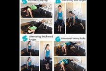 OptiMom work outs! / by Alanna Dixon