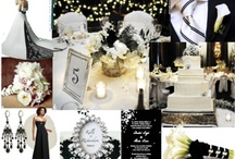 Black and White Winter Wedding