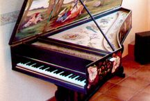 Piano and Harpsichord / by Amy Redford Art