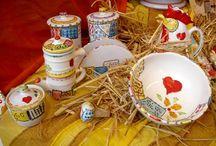 Ceramiche di Anffas Scoglitti /  Lavori di ceramica che esprimono le abilità creative dei nostri ragazzi  con disabilità  coadiuvati dagli operatori