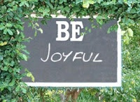 One little word 2013  / My theme/intention for the year - Be Joyful