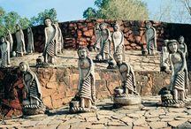 Nek Chand's Rock Garden / Nek Chand's Rock Garden in Chandigarh, India