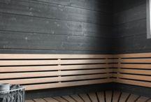 Suomalaisia saunoja ja kosteita modernilla otteella / Puu toimii oikein käsiteltynä myös kosteissa tiloissa
