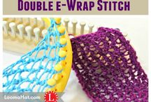 looming stitches