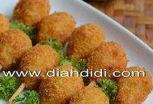 resep ayam, ikan, daging, telur, tahu dan tempe
