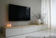 tv around furniture