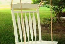 outdoor furniture / by Elke Stephens