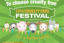 Cruelty Free Festival 2014 / Check out our e-flyers and other event information here!