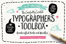 I'm FONT of you / Tolle Fonts