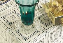 Magic crochet - tablecloths