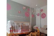 Nursery wall decals / by Vinilos Decorativos MX Mexico Decoracion de interiores con vinil decorativo