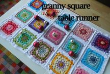 16C: squares granny / patterns of granny-squares and tutorials for how-to-make squares ( joining of squares is on other board)